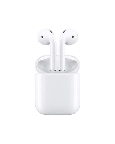 Refurbished Apple AirPods 2e generatie   Bedrade oplaadcase   6 maanden garantie