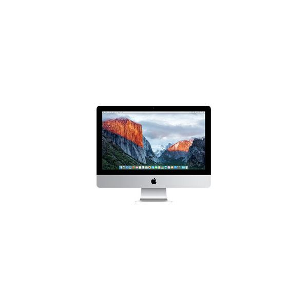 iMac 21-inch Core i5 2.8 GHz 256 GB HDD 8 GB RAM Argent (Fin 2015)
