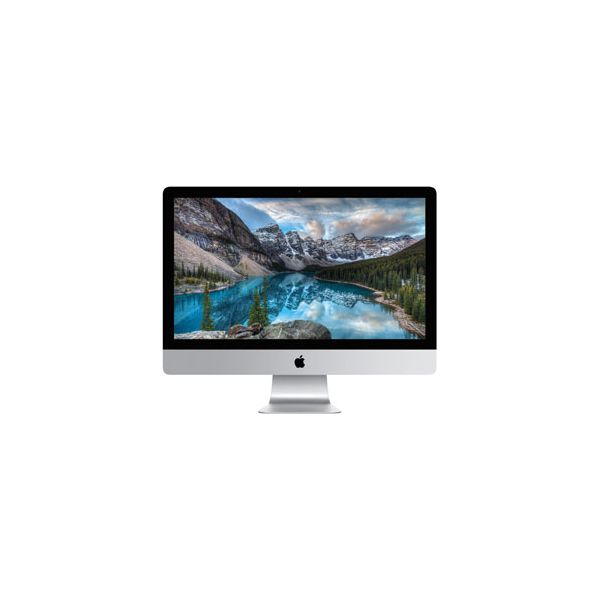 iMac 27-inch Core i7 4.0 GHz 2 TB HDD 64 GB RAM Argent (5K, Fin 2015)