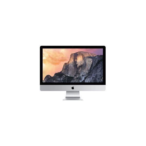 iMac 27-inch Core i7 4.0 GHz 1 TB (Fusion) 8 GB RAM Argent (5K, Fin 2014)