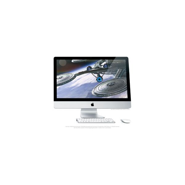iMac 27-inch Core 2 Duo 3.33 GHz 1 TB HDD 4 GB RAM Argent (Fin 2009)
