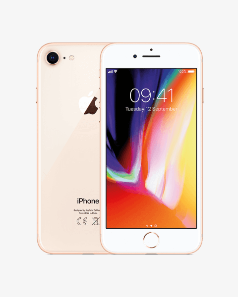 Refurbished iPhone 8 plus 256GB doré