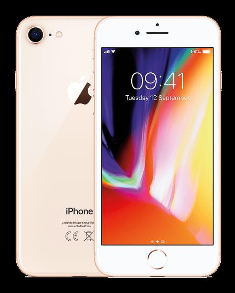 Refurbished iPhone 8 64GB gold