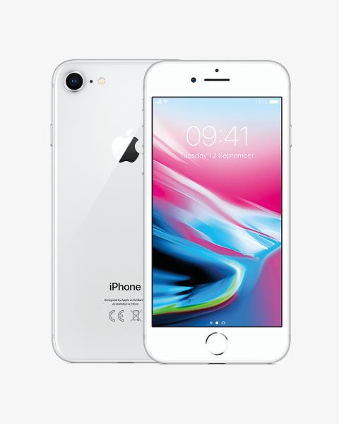 Refurbished iPhone 8 plus 64GB argent