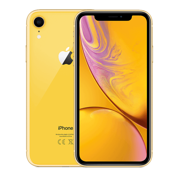 Refurbished iPhone XR 64GB jaune