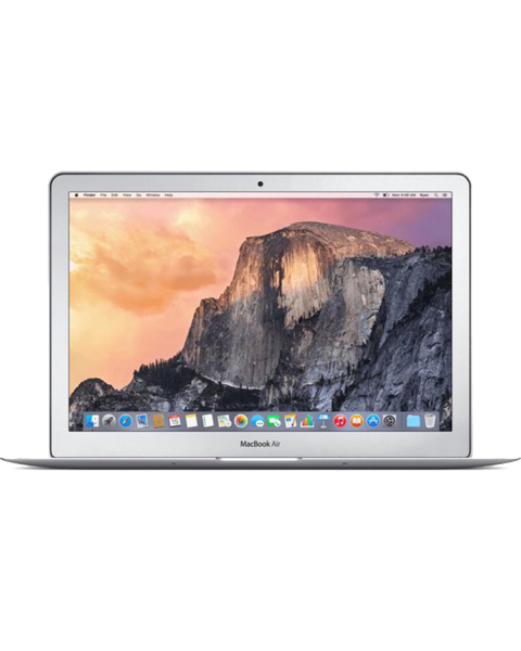 MacBook Air 13-inch Core i7 2.2 GHz 128 GB SSD 8 GB RAM Zilver QWERTY (Early 2015)