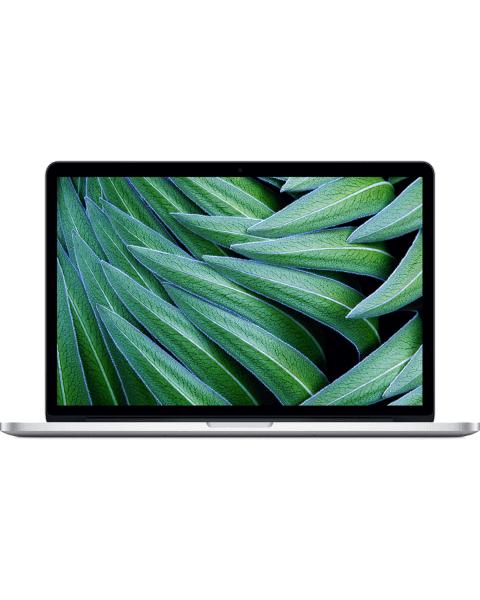 MacBook Pro 15 pouces Core i7 2.0 GHz 256GB SSD 8GB RAM argenté (Fin 2013)