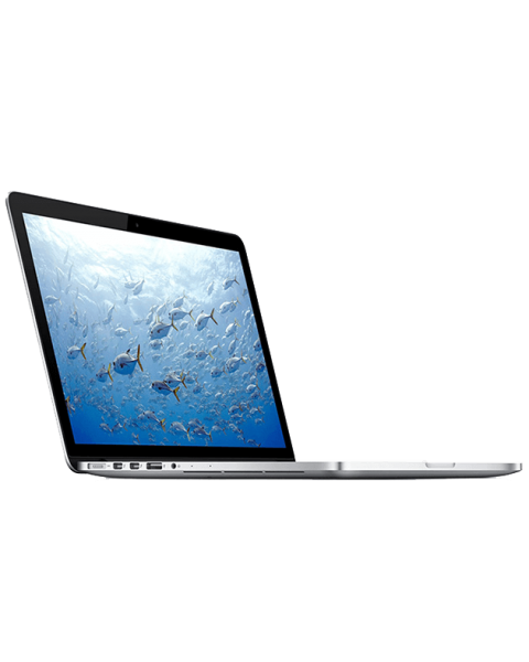MacBook Pro 15-inch Core i7 2.3 GHz 256 GB SSD 8 GB RAM Argent (Fin 2013)