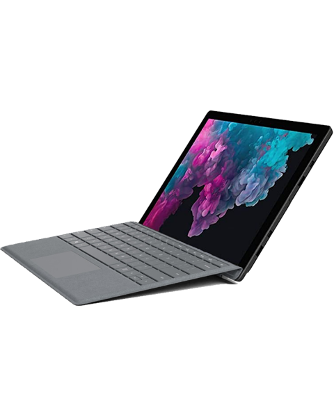 Refurbished Microsoft Surface Pro 5 | 12.3 inch | 7e generatie i5 | 128GB SSD | 4GB RAM | Grise QWERTY keyboard | Sans Pen