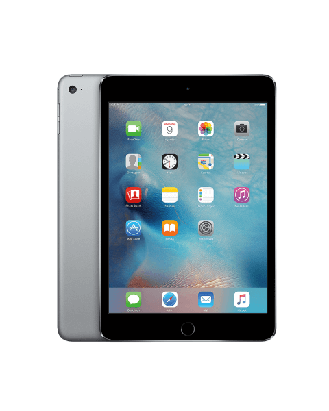 Refurbished iPad mini 4 64GB WiFi + 4G zwart