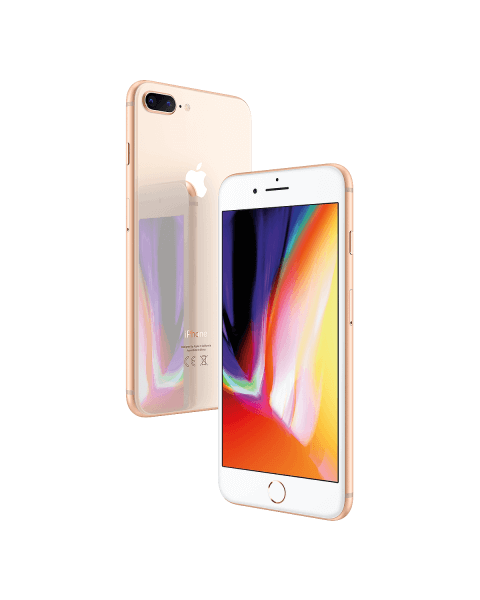 Refurbished iPhone 8 plus 64GB doré