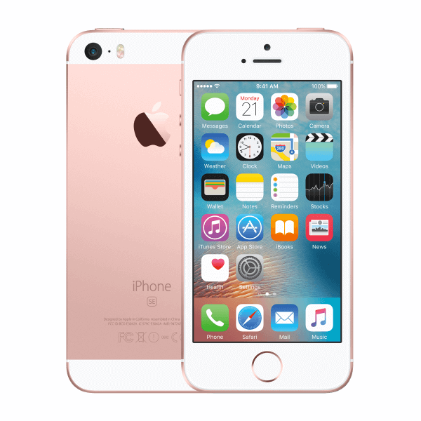iPhone SE 32GB or rose reconditionné