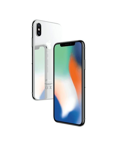 iPhone X 64GB argenté reconditionné