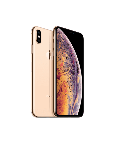 Refurbished iPhone XS Max 64GB doré