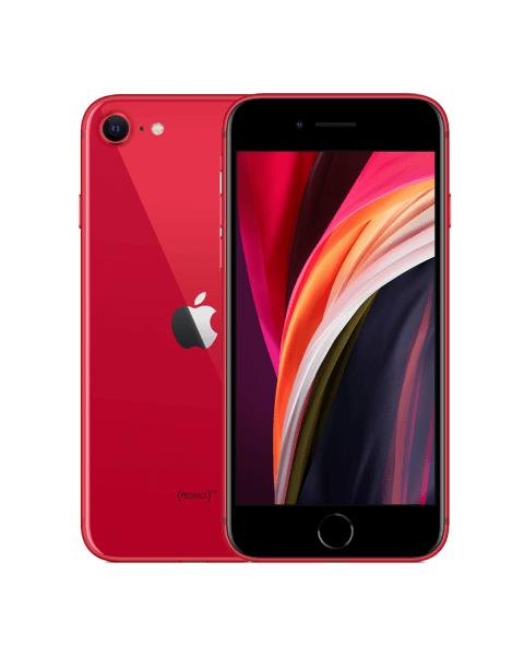 Refurbished iPhone SE 128GB rood (2020)